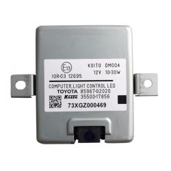 Control unit, LED lighting system 85967-02020 / 85500-17856 Toyota