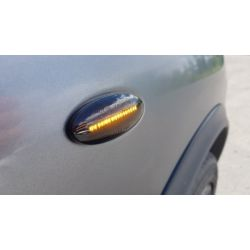 Flashing Repeaters Smoked LED DYNAMIC SCROLLING Nissan Cube, Juke, Leaf, Micra, Note, Qashqai, X-trail