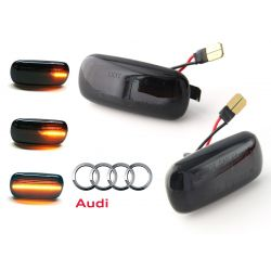 Flashing Repeaters Smoked LED DYNAMIC SCROLLING Audi A3 8P, A4 B6 B7 B8, A6 C5 C7, A8 D3, TT 8J