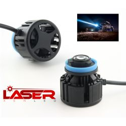 Laser conversion kit H11 6500K 28W fog light - 3Km distance - Genuine laser