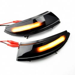 Repeaters dynamic LED scrolling retro Clio 4 Clio IV - Renault