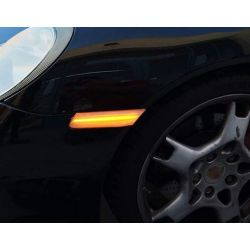 Dynamic Side Turn Signals LED Smoked Porsche 911 997, Boxster 987, Cayman 987