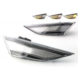 Clear LED Paring Side Turn Signals Porsche 911 991, Boxster 981 & 718, Cayman 981 & 718
