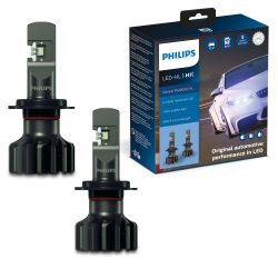 2x H7 LED Ultinon Pro9000 Philips 5800K +250% 11972U90CWX2