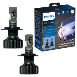 2X H4 LED ULTINON PRO9000 PHILIPS 5800K +250% 11342U90CWX2