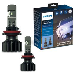2x H8/H11/H16 LED Ultinon Pro9000 Philips 5800K +250% 11366U90CWX2