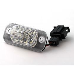Pack LED rear plate GOLF 3 / POLO 3 / CORDOBA 6K - white 6000k