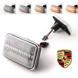 Flashing Repeaters Clear LED DYNAMIC SCROLLING Porsche 911 (930 964 993) / 924 / 944 / 959 / 968