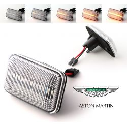 Flashing Repeaters Clear LED DYNAMIC SCROLLING Aston Martin DB7 - Volante - V8 Coupé - Vantage