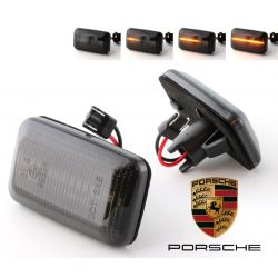 Flashing Repeaters Smoked LED DYNAMIC SCROLLING Porsche 911 (930 964 993) / 924 / 944 / 959 / 968