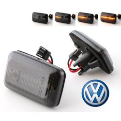 Flashing Repeaters Smoked LED DYNAMIC SCROLLING VW Cady Corrado Golf  Jetta  Passat Polo Scirocco