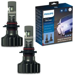 2X HB3 HB4 LED ULTINON PRO9000 PHILIPS 5800K +250% 11005U90CWX2
