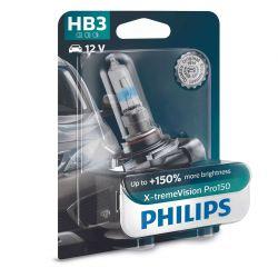 1x HB3 9005 X-tremeVision Pro150 - 9005XVPB1 12V 60W