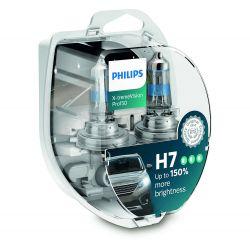 2x H7 X-tremeVision Pro150 Philips - 12972XVPS2 - 55W 12V