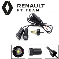2x Coming Home-Logo zum Bohren - RENAULT F1 TEAM
