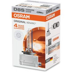 1X D8S XÉNON XENARC OSRAM ORIGINAL PK32d-1