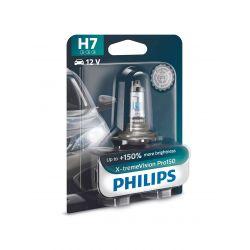 1x H7 X-tremeVision Pro150 Philips - 12972XVPB1 - 55W 12V