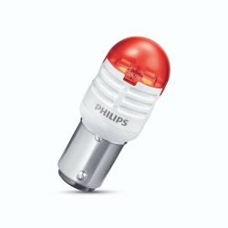 2x P21/5W LED bulb Philips Ultinon PRO3000 Red 1157 BAY15d 12V 11499U30RB2
