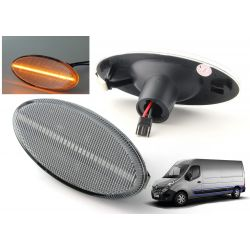 2x LED side marker for Opel Movano, Renault Master, Nissan NV400