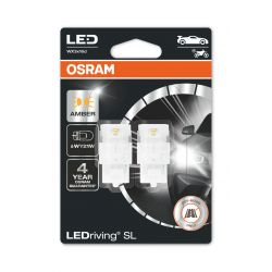 2x WY21W LED Orange LEDriving SL 7504DYP-02B WX3x16d 12V 1,4W