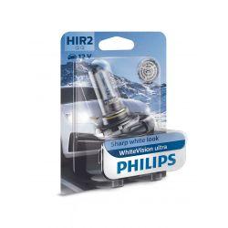 HIR2 9012 WHITE VISION ULTRA PHILIPS 9012WVUB1 12V 55W PX22d
