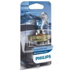 1x PSX24W Philips WhiteVision Ultra 12276WVUB1 12V 24W