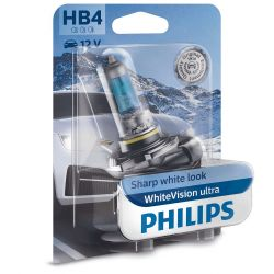 BULB HB4 9006 WHITE VISION ULTRA PHILIPS 9006WVUB1 12V 55W
