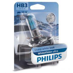 1x BULB HB3 9005 PHILIPS WHITEVISION ULTRA - 9005WVUB1