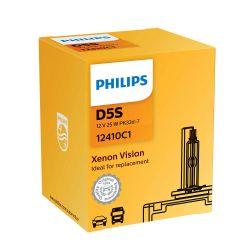 1x D5S Xenon Vision Lamp 12V 25W PK32d-7 - OEM Origine 12410C1