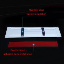 Interior LED bar module with switch - 12 to 80Vdc - 6500K - 10 000Hrs - 10W - 2 years warranty
