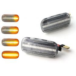 DYNAMIC PARKING DYNAMIC LED Repeaters Turn Signals RENAULT CLIO 1 & 2, MEGANE, KANGOO, LAGUNA, TWINGO