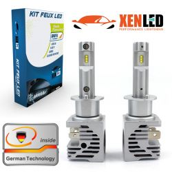 2x LED bulbs H1 Terminator3 all-in-one real 3200lms canbus - xenle