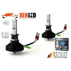 2 x 50w bulbs h3 led xt3 - 6000lm - 12v / 24v
