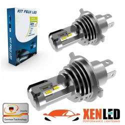 2x bulbs h4 bi-LED Terminator3 all-in-one real 3200lms canbus - xe