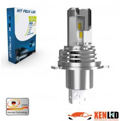 H4 bi-bulb LED Terminator3 all-in-one real 3200lms canbus - xenled