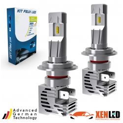 2x LED bulbs h7 Terminator3 all-in-one real 3200lms canbus - xenle