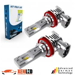 2x bulbs h8 h9 h11 led Terminator3 all-in-one real 3200lms canbus
