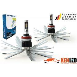 2 x 55w bulbs h9 xl6s - 4600lm - short - 12v / 24v