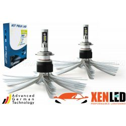 2 x 55W bulbs H18 xl6s - 4600lm - short - 12v / 24v