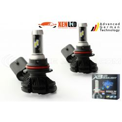 2 x bulbs hb5 9007 dual-LED 55w xt3 - 6000lm - 12v / 24v