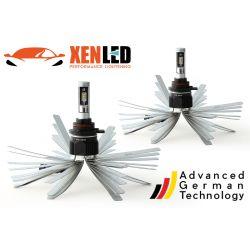 2 x 55w bulbs HIR2 xl6s 9012 - 4600lm - short - 12v / 24v