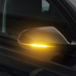 AUDI A6 C8 Passing LED Repeaters from 2018 - Dynamic Rearview Mirror