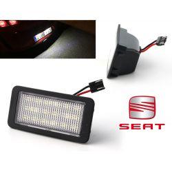 2x LED Modules Rear Plate Seat Ibiza 6J Phase 1 (5 doors)