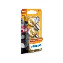 2 bulbs P21 / 4W Philips 12594B2 - Set of 2 Vision bulbs