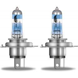 2X H4 NIGHT BREAKER 200 + 200%, HALOGEN HEADLAMP, 64193NB200-HCB, 12V, DUO BOX 472NB200