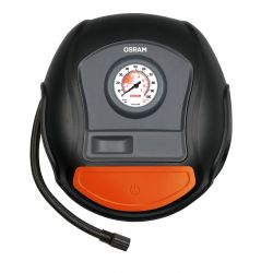 High-speed tire compressor with OSRAM TYREinflate 200 OTI200 roll-up cable