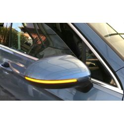 GOLF 8 Dynamic LED Mirrors Flashing - Rolling Repeaters