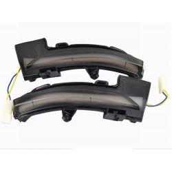Dynamic LED Repeaters Skoda Octavia Mk3 A7 5E 2013-2019 - Scrolling Homologated