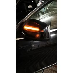 Rolling Dynamic LED Retro Repeaters Mercedes C-Class W204, Viano & Vito W639, ML-Class W164