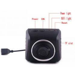 High Definition WiFi Auto Car DVR Camera Digital Upgraded Loop Video Camcorder Driving Recorder DVR-A4